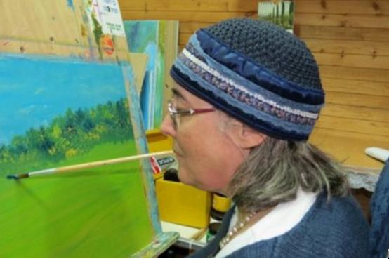 פתיחת תערוכת ציורים ברכה פישל